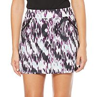 Women's Grand Slam Golf Performance Watercolor Print Skort