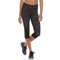 Petite Tek Gear® Side Panel Capri Leggings