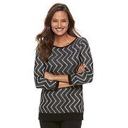 Women's Dana Buchman Zigzag Sweater