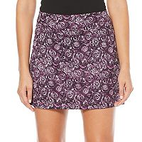 Women's Grand Slam Golf Performance Floral Skort