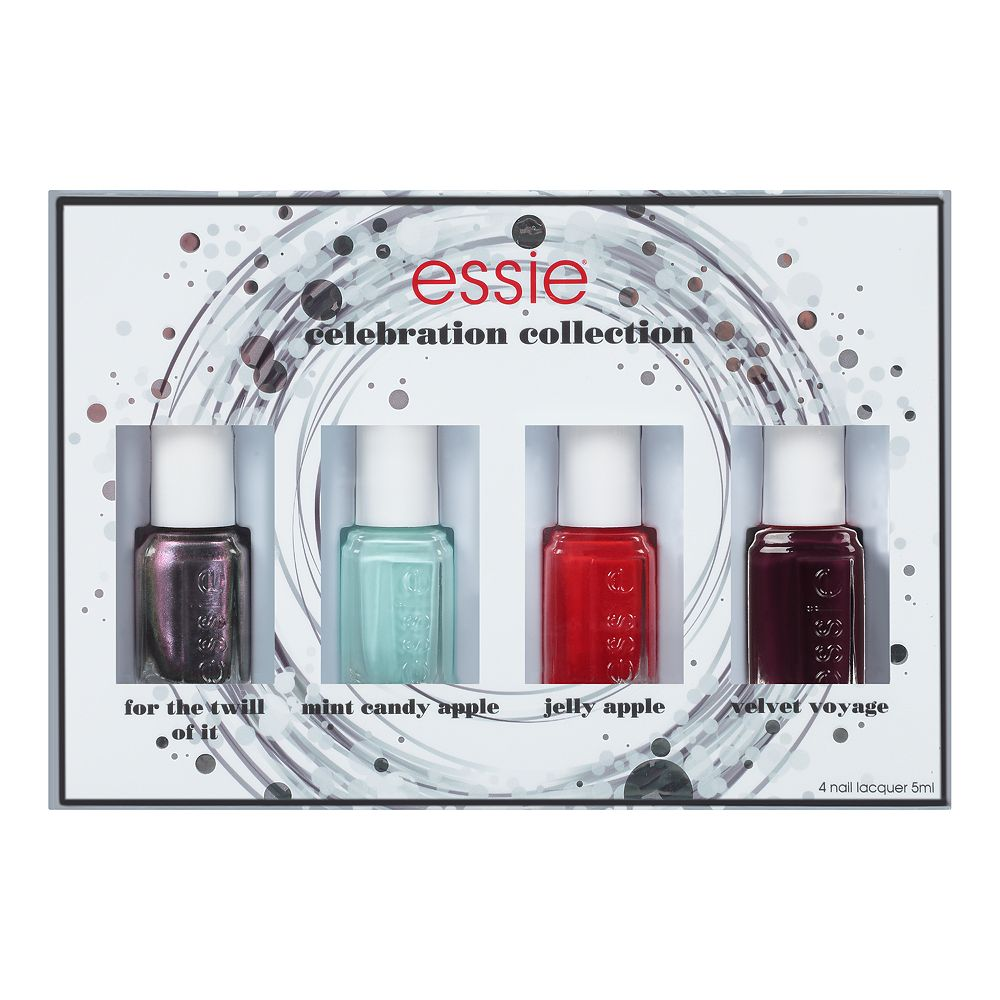 essie 4-pc. Nail Color National Nail Polish Set