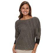 Women's Dana Buchman Boatneck Sweater