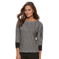 Women's Dana Buchman Boatneck Sweater