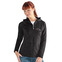 Women's Baltimore Ravens Space-Dyed Hooded Jacket