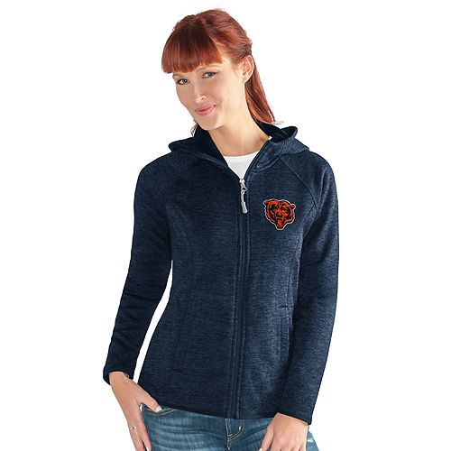 Women's Chicago Bears Space-Dyed Hooded Jacket