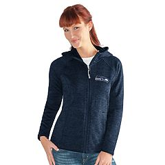 Women's Seattle Seahawks Space-Dyed Hooded Jacket
