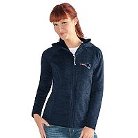 Women's New England Patriots Space-Dyed Hooded Jacket