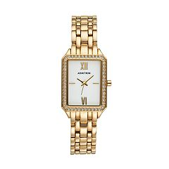 Armitron Women's Crystal Watch - 75/5517MPGP