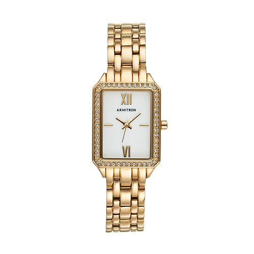 Armitron Women's Crystal Watch - 75/5517MPGP