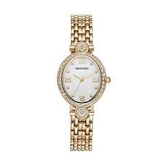 Armitron Women's Crystal Watch - 75/5521MPGP