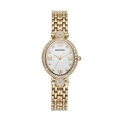 Armitron Women's Crystal Watch - 75/5521MPGP