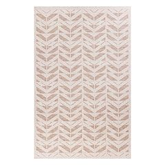 KAS Rugs Farmhouse Chevron Indoor Outdoor Rug