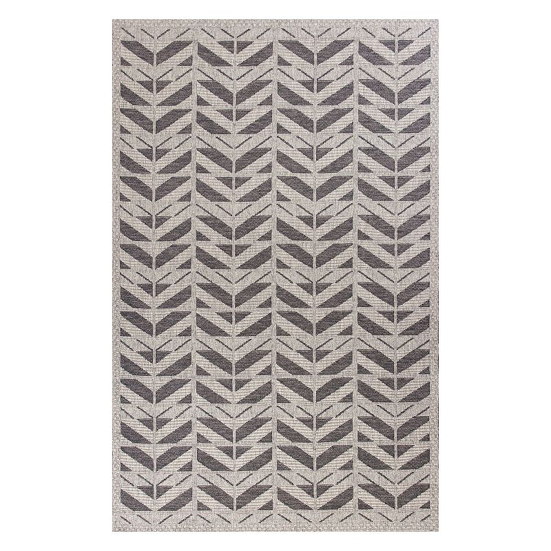 Easily update any living area with this KAS Rugs Farmhouse Chevron indoor and outdoor rug.FEATURES Powerloomed Durable flatwoven pile Indoor & outdoor use Chevron pattern CONSTRUCTION & CARE Polypropylene Pile height: 0.125\\\'\\\' Spot clean Manufacturer\\\'s 1-year limited warrantyFor warranty information please click here Imported Attention: All rug sizes are approximate and should measure within 2-6 inches of stated size. Pattern may also vary slightly. This rug does not have a slip-resistant backing. Rug pad recommended to prevent slipping on smooth surfaces. . Size: 6.5X9.5 Ft. Color: Med Grey. Gender: unisex. Age Group: adult. Pattern: Geometric.