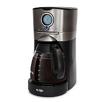 Mr. Coffee 12-Cup Tinted Stainless Coffee Maker