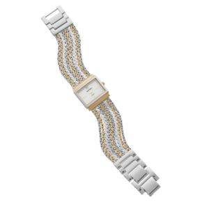 Armitron Women's Diamond Accent Two Tone Chain Watch - 75/5537MPTT