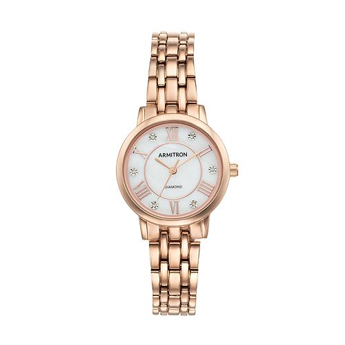 Armitron Women's Diamond Watch - 75/5540MPRG