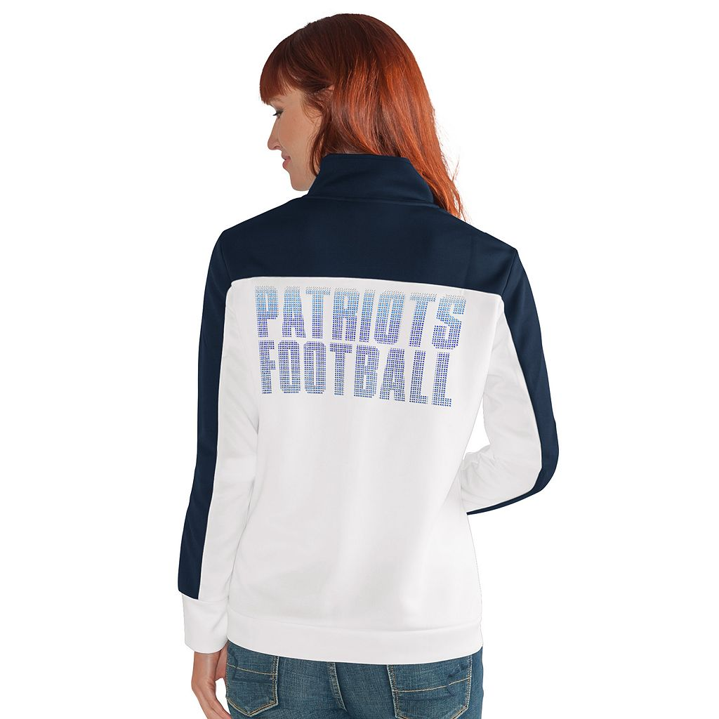 Women's New England Patriots Track Jacket