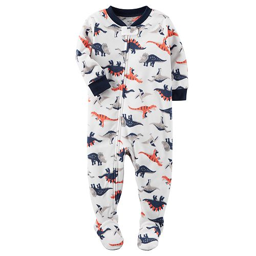 7e597c8b07f3 Baby Boy Carter s Winter Fleece Footed Pajamas