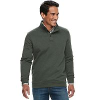 Men's Croft & Barrow® Classic-Fit Easy-Care Fleece Mockneck Pullover