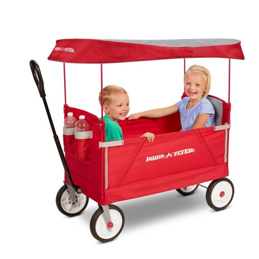 Radio Flyer 3-in-1 EZ Fold Wagon with Canopy