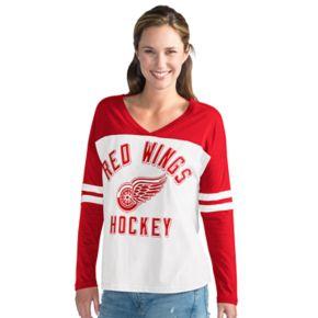 Women's Detroit Red Wings Goal Line Tee