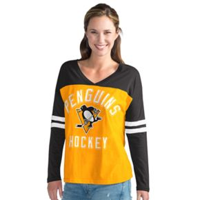 Women's Pittsburgh Penguins Goal Line Tee