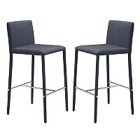 Zuo Modern Confidence Counter Stool 2 pc Set