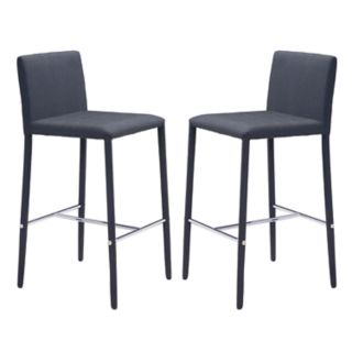 Zuo Modern Confidence Counter Stool 2-piece Set