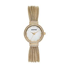 Armitron Women's Crystal Mesh Watch