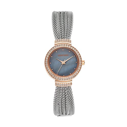 Armitron Women's Crystal Mesh Watch