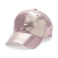 Women's Metallic Sheen Baseball Cap