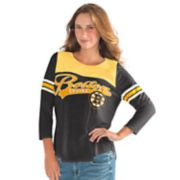 Women's Boston Bruins Goal Tee