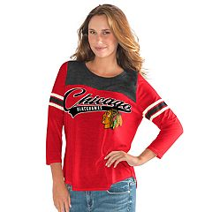 Women's Chicago Blackhawks Goal Tee