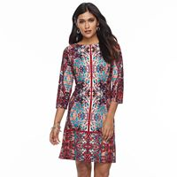 Petite Suite 7 Printed Shift Dress
