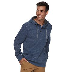 Men's Urban Pipeline® Henley Fleece Hoodie