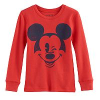 Disney's Mickey Mouse Boys 4-10 Winking Thermal Top by Jumping Beans®