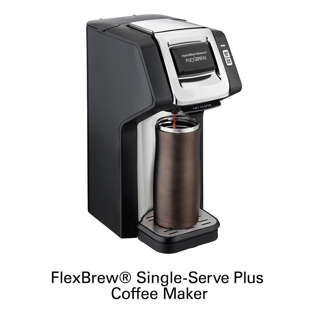 Hamilton Beach FlexBrew Single-Serve Plus Coffee Maker