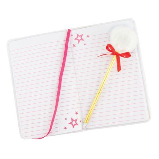 Girls 4-16 American Girl Journal & Pom Pen Gift Set