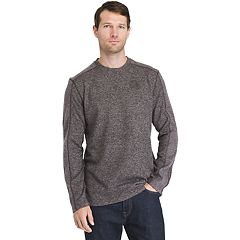Men's Arrow Colorblock Crewneck Fleece