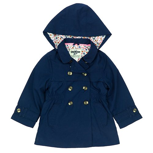 Girls 4-8 OshKosh B'gosh® Midweight Trench Coat