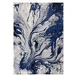 KAS Rugs Illusions Watercolors Abstract Rug