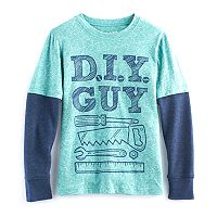 Boys 4-10 Jumping Beans® Thermal Heathered Tee