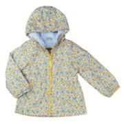 Girls 4-8 OshKosh B'gosh® Midweight Tiny Flower Fleece-Lined Windbreaker Jacket