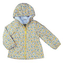 Girls 4-8 OshKosh B'gosh® Midweight Tiny Flower Fleece-Lined Windbreaker Jacket
