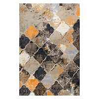 KAS Rugs Madison Abstract Trellis Shag Rug