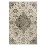 KAS Rugs Madison Townhouse Medallion Shag Rug