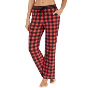 Women's Cuddl Duds Pajamas: Drawstring Microfleece Pants