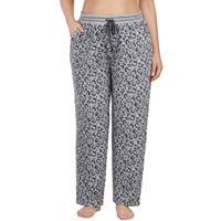 Plus Size Cuddl Duds Pajamas: Drawstring Microfleece Pants