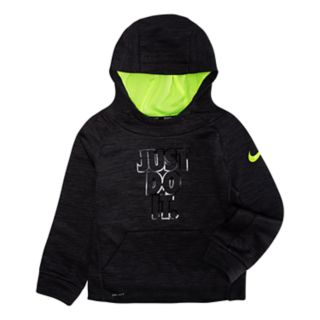 "Boys 4-7 Nike ""Just Do It."" Thermal Dri-FIT Pullover Hoodie"