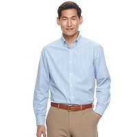 Men's Croft & Barrow® Classic-Fit Patterned Easy-Care Button-Down Shirt